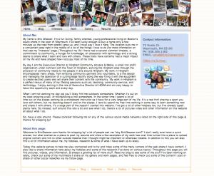 EricDresser-com v2 screenshot